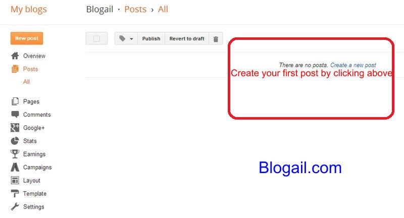 Create new post