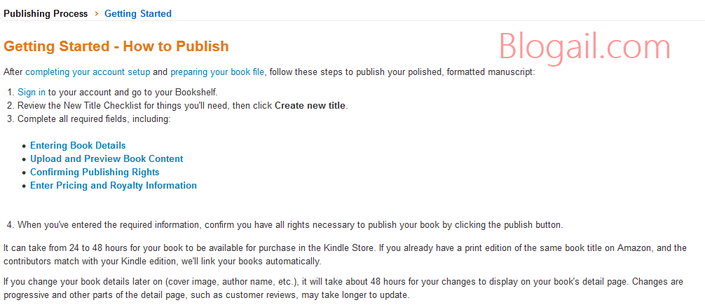 How to Publish eBook on Kindle