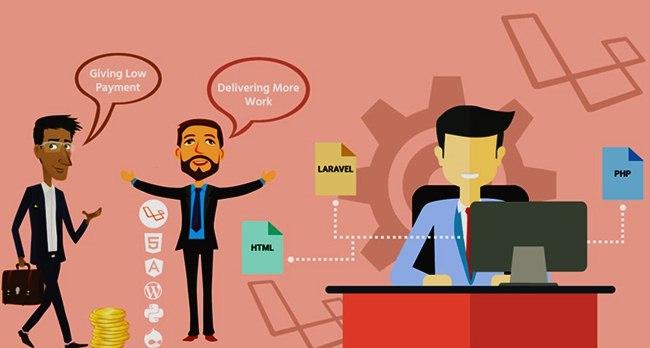 Laravel VS WordPress for Website Development